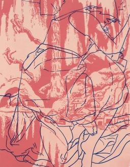 """Exploring the Arctic Caves, 2010, 20"""" x 15"""", screenprint - $50"""