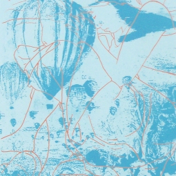 "Pacific Ocean Trails, 2010, 20"" x 15"", screenprint - $50"