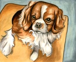 8x10 watercolor